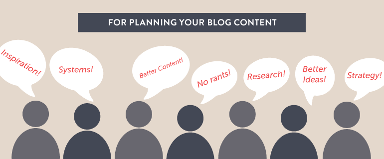 How to Plan Better Content