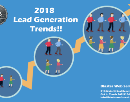 Blaster Lead Generation 2018